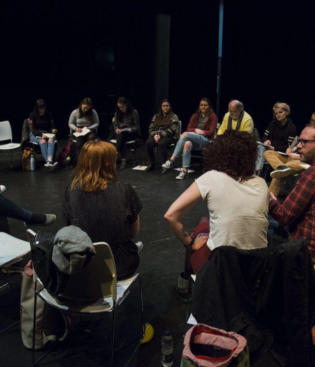 JMK Workshop: Working with Writers