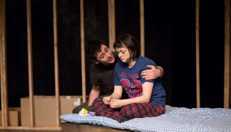 Benjamin Blyth (Linus) and Jennifer Tan (Marnie) - (c) Devin Ainslie