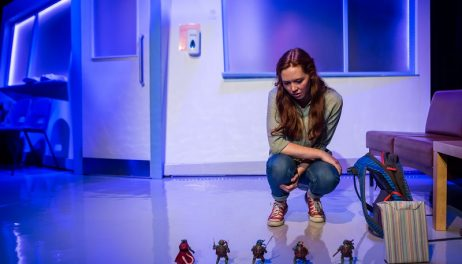 Plastic Figurines by Box Of Tricks at New Diorama Theatre Photo Credit: Richard Davenport for  The Other Richard info@theotherrichard.com