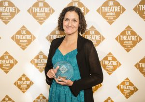 Lizzie Nunnery at UK Theatre Awards 2017